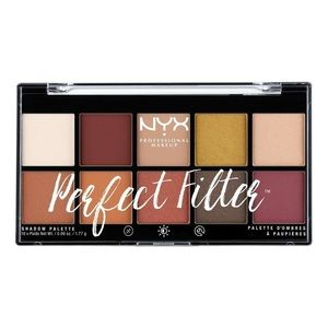 NYX Perfect Filter eyeshadow palette rustic antiqu